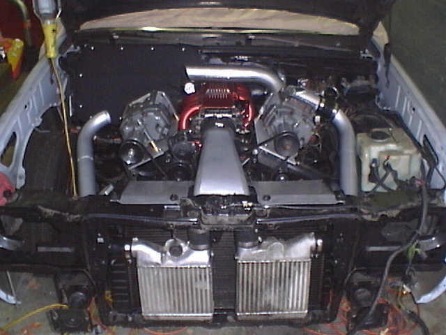 Twin eaton superchargers with a twist! - Hot Rod Forum